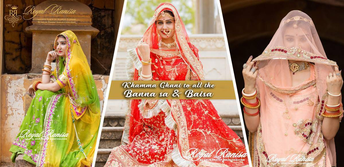 Khamma Ghani To All The Banna Sa Baisa Hkm As Season Of Marriages Are Coming Soon Here In Rajasthan Rajputana And Every Woman Is Shopping For
