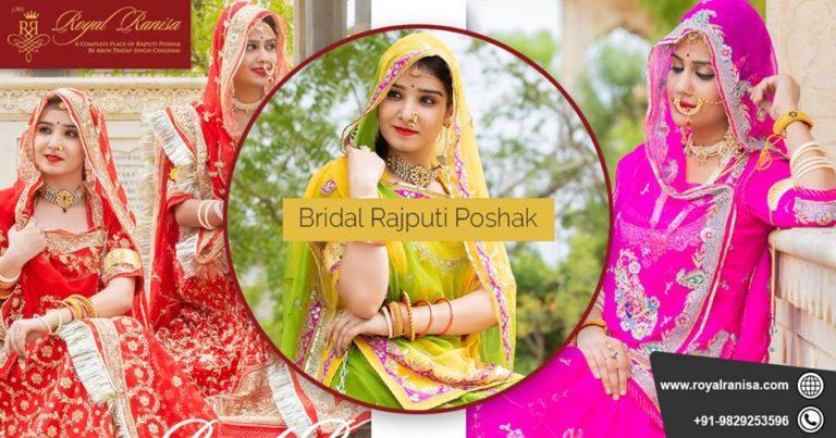 Bridal Rajputi Poshak - Royal ranisa