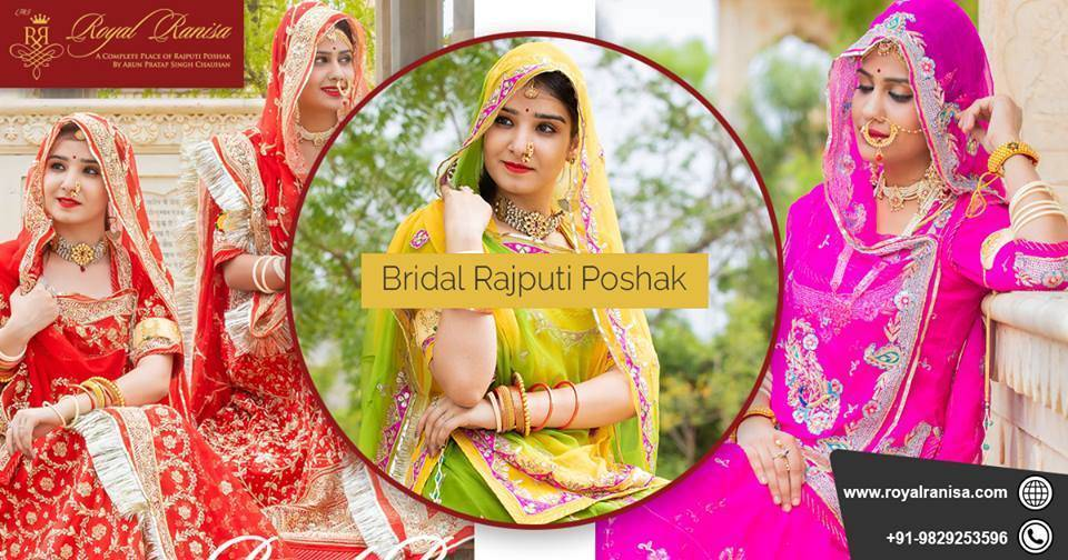 A Rajput Dress Is The Famous Attire Of Womens In Rajasthan