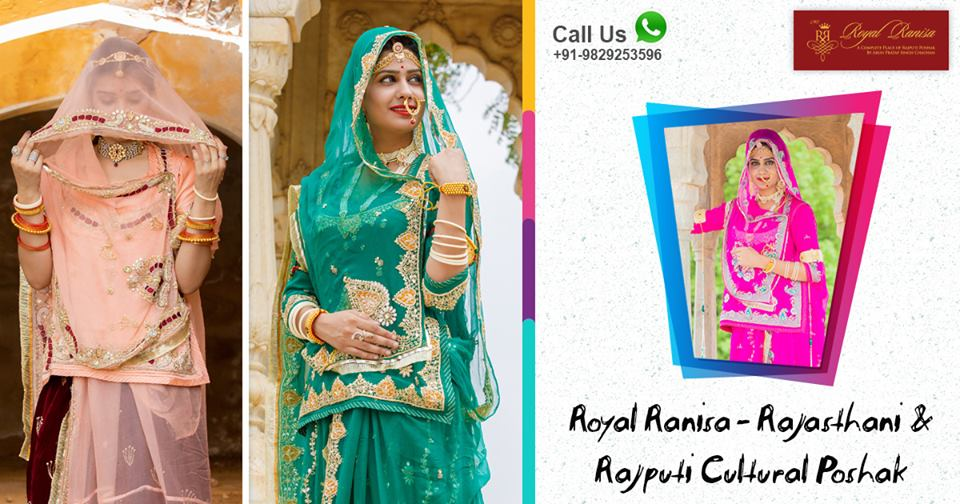 Choose Rajputi Poshak and Get Traditional Look